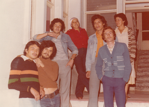 From left to right: Francisco Bohorquez, Jaime Bautista, Fernando Arregui, LuPe, Edgar Barahona, Oswaldo Arteaga, Fiona