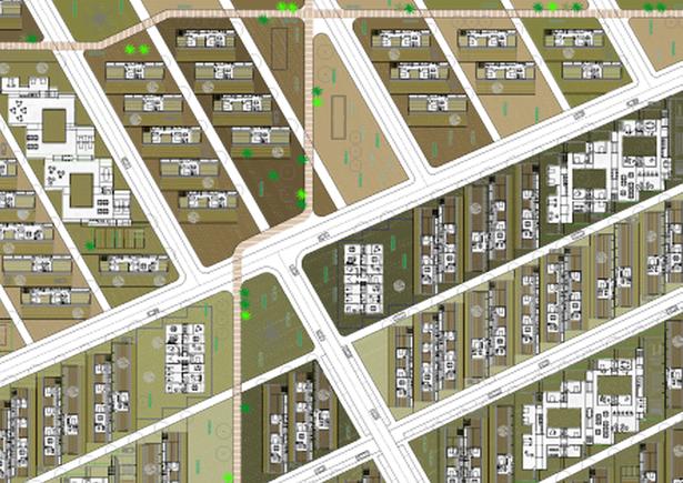 residential settlements/rural character