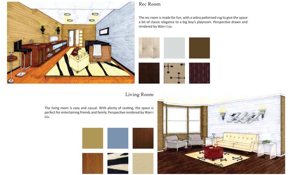 Rec Room & Living Room
