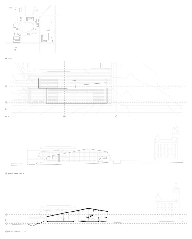 plans + sections + elevations