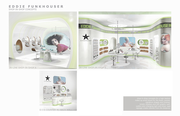Shop-in-Shop concept Beauty Brand