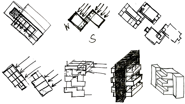 Massing Sketches