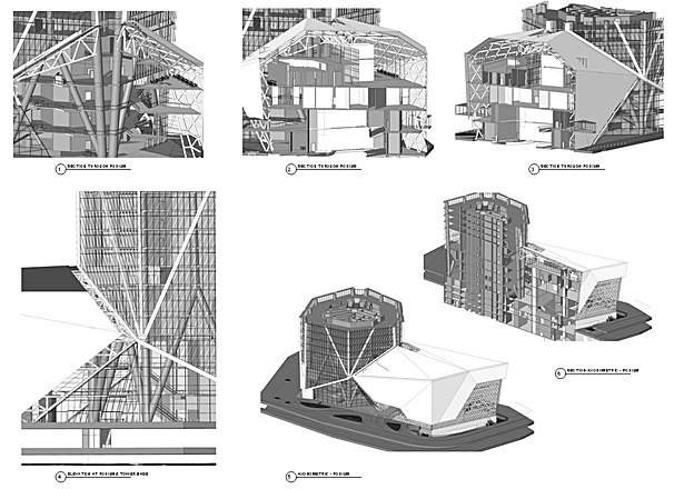 3D views from Revit