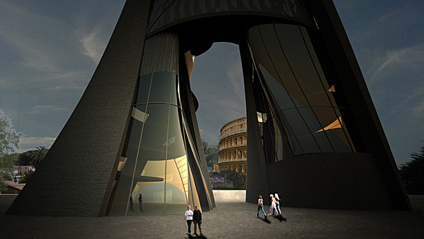 A Modern Arch for Rome