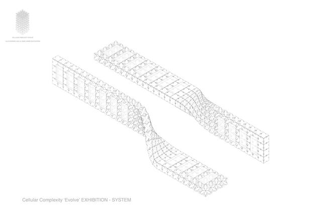 2x8 EVOLVE AIAILA AXONOMETRY ©cellular complexity