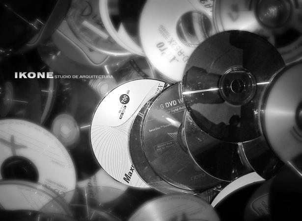 materia prima - cd's recyclados