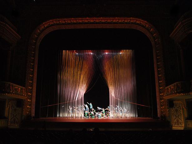 Spatial scenario - Curtain