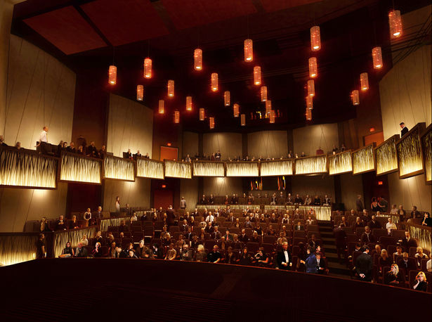 400 seat Proscenium Theater