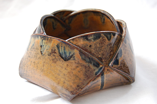 Ceramic, lotus bowl