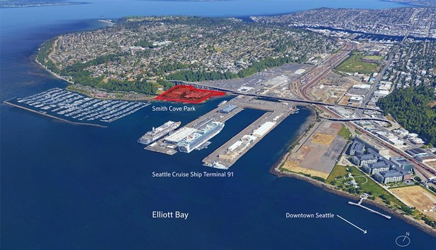 GGN is leading the design for Smith Cove Park on Seattles waterfront. (Image credit: GGN)