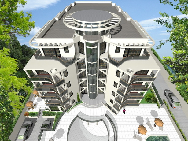 Complex of Holiday Apartments BOMOND - visualization