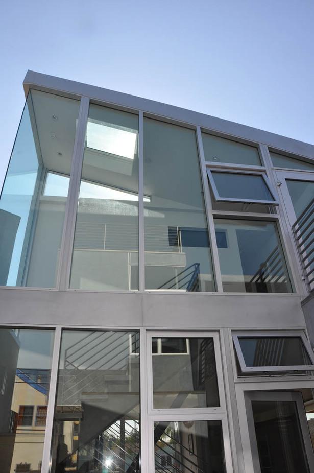 stairwell glazing