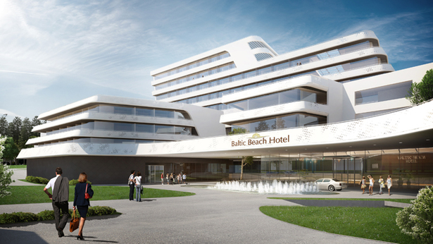 Baltic Beach Hotel / Competition Entry S&P architects
