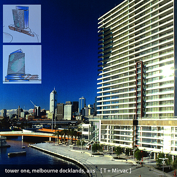Tower 1 Docklands Yarras Edge