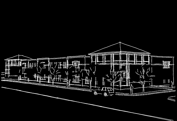 Design Drawing, Livingston Avenue Elementary School