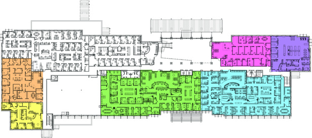 2nd Floor plan of two