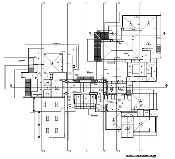 Main Level Reflected Ceiling Plan