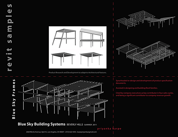 Architecture design features developed within the Building system