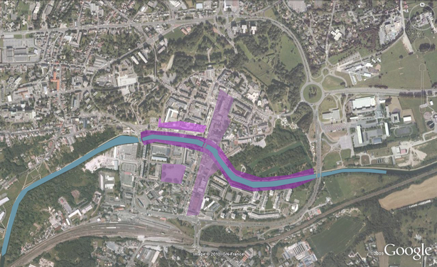 Project Maubeuge City Centre and Sambre river front