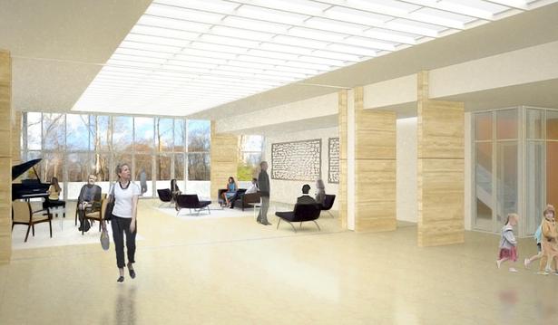 Main Lobby redesign