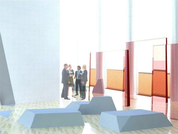 Exhibition Floor Rendering