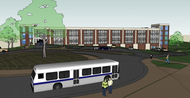 Interior Campus View - Sketchup Model