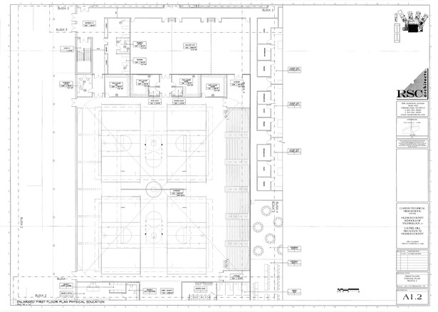 First Floor - Partial Plan, Block 2