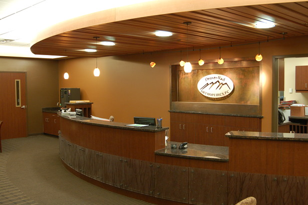 Reception at One of Two Ortho Suites