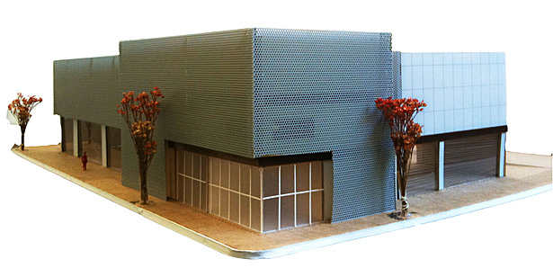Physical model-facing Southwest