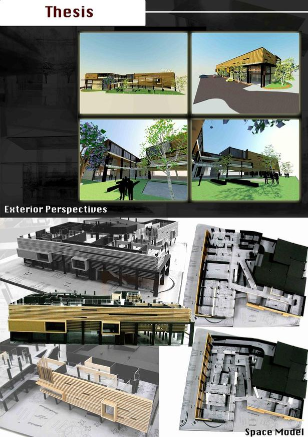 Exterior Perspectives and Space Model