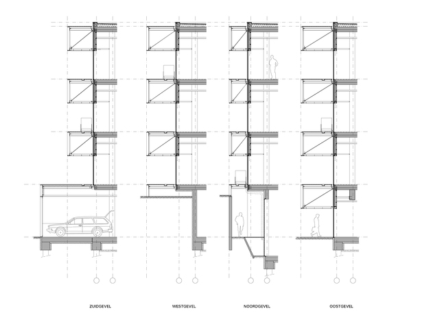 Claus en Kaan Architecten / Facades Sections