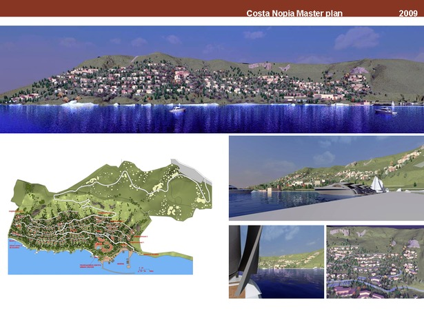 Urban development and resort in Crete, Greece