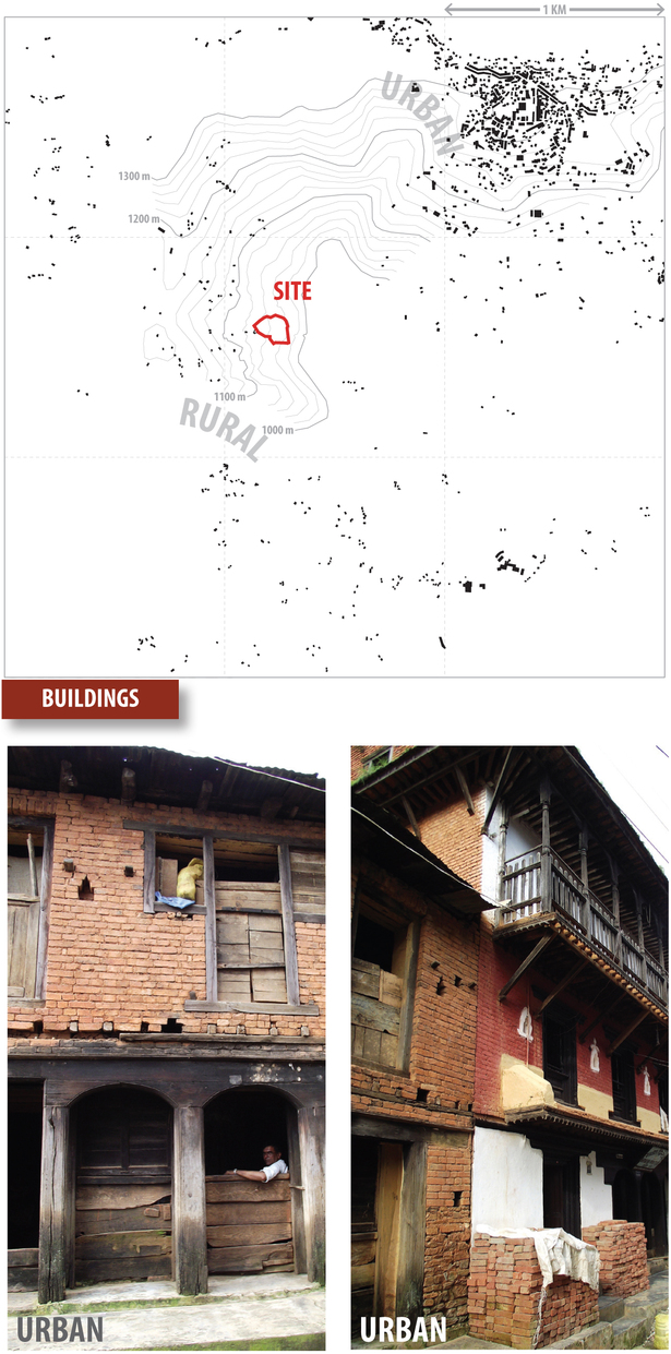 buildings study (Google Maps, Rhino 3D, Adobe Illustrator)