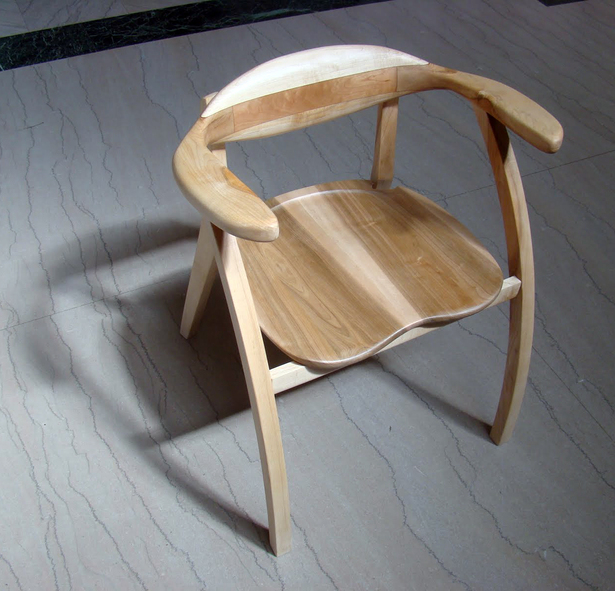 Photograph of finished chair