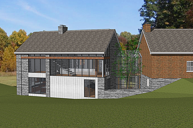 Exterior Design, Millerton House