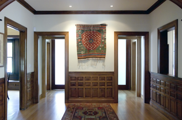Reconfigured Entry Hall