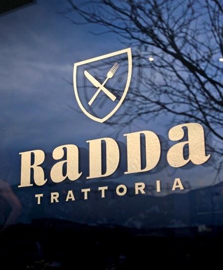 Radda Trattoria Identity Branding