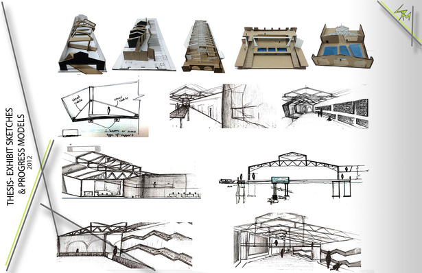 Progress (Conceptual models and sketches)