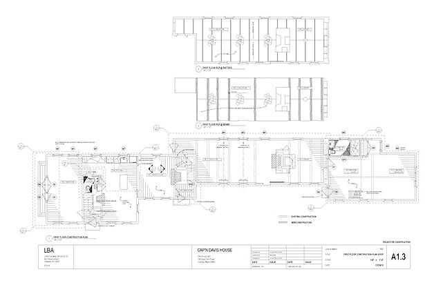 First floor plan (Chris Norris)