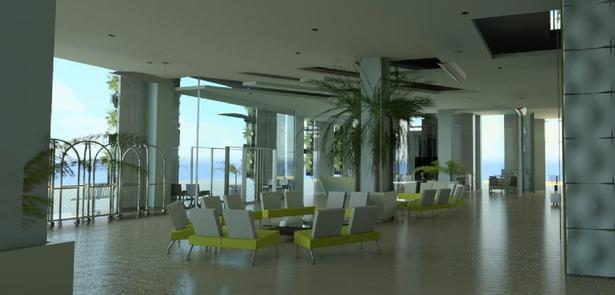 Preliminary Cloud Rendering - Lobby/Reception Area