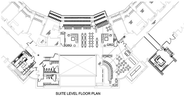 Suite Level Floor Plan