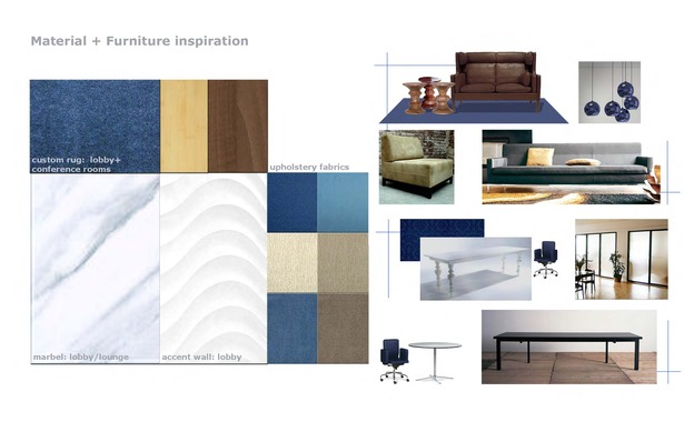 Material and furniture inspirations