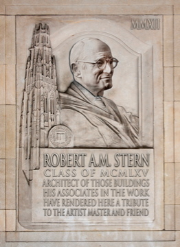 Robert A.M. Stern at Yale