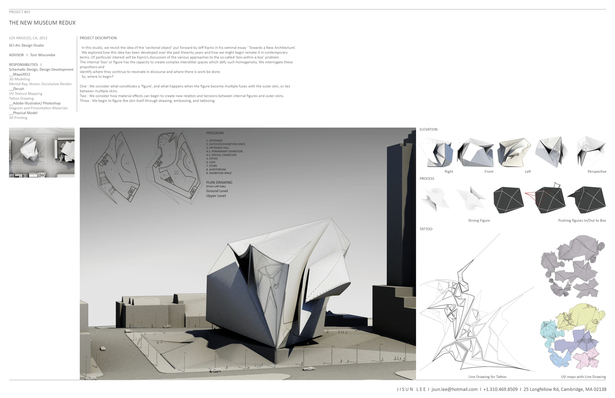 #SCI-Arc #Design Studio 2012 F/W #Tom Wiscombe