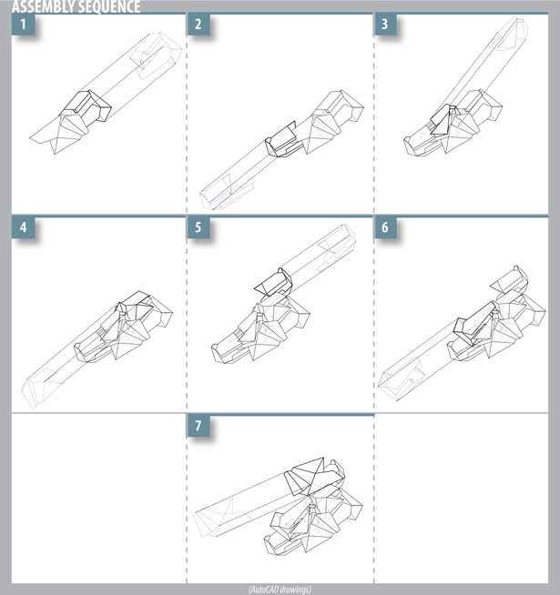 assembly sequence (AutoCAD)