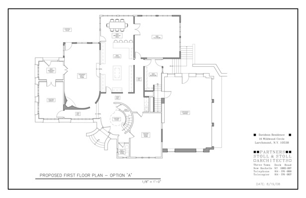 Davidson Residence Plan