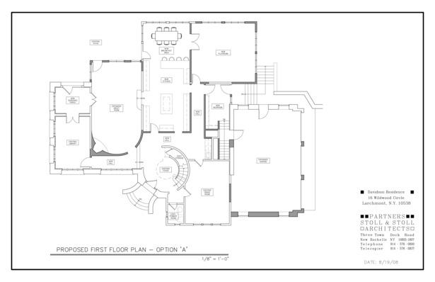 Davidson Residence Plan