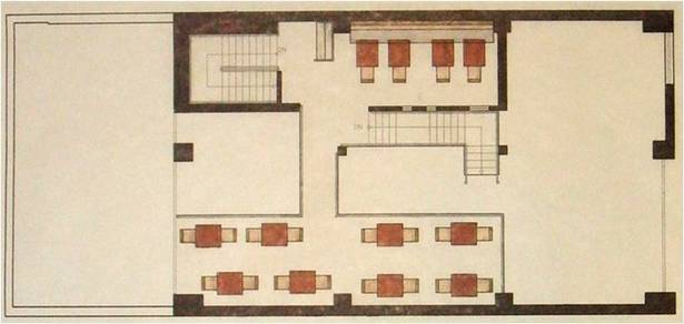 Floor plan, mezzanine level