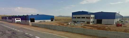 Overview of the Production and Warehouse buildings.