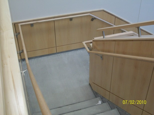 Image 1 of Public Entry staircase; from 2nd to 1st flr